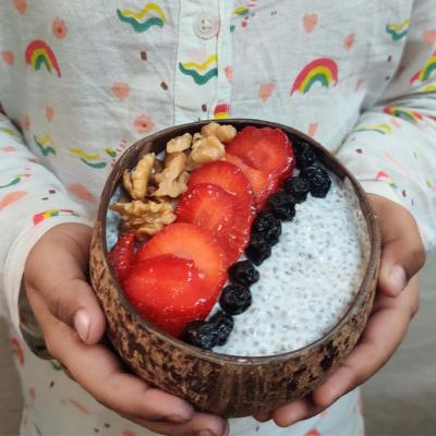 Coconut Shell Bowls - Set of 2 - Upcycled
