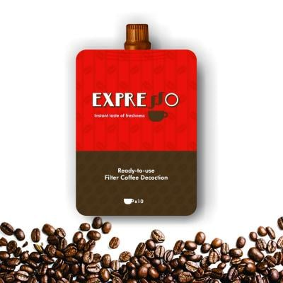 Pure Authentic Instant ready to use Expresso Filter Coffee Decoction (Combo Pack of 2)