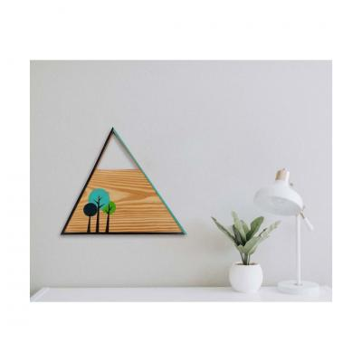 THE PACIFIC WALL ART in pine wood