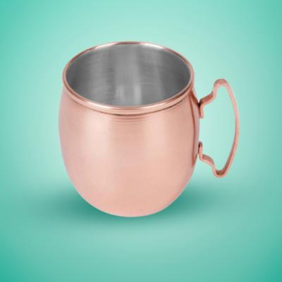 Stainless Steel Copper Platting Moscow Mule Mug 450ml