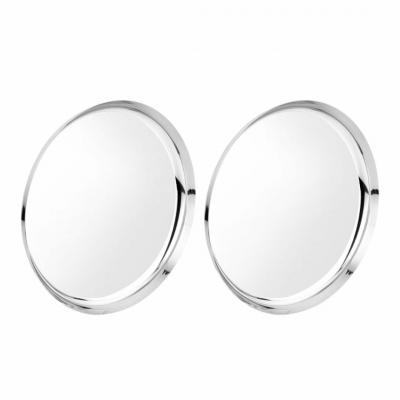Sega Stainless Steel Heavy Gauge German Dinner Plates with Mirror Finish - Set of 4pcs – 13 inches