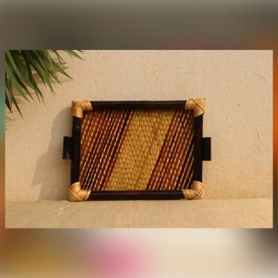 Bamboo & cane Serving Tray