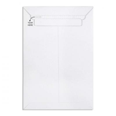 Pack of 10 White All Board Envelope 450 GSM Thick, Size : 12.75 x 9 inches