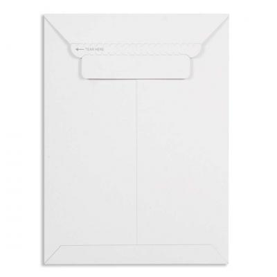 Pack of 10 White All Board Envelope 450 GSM Thick, Size : 10 x 8 inches