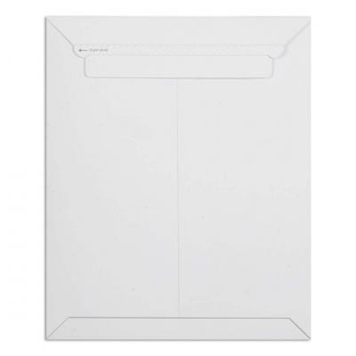 Pack of 10 White All Board Envelope 450 GSM Thick, Size : 14 x 11 inches