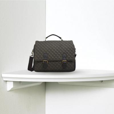Quilted Canvas Laptop Bag