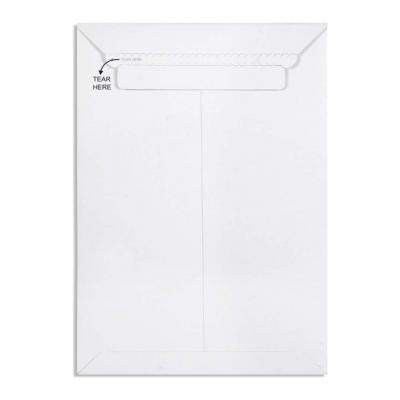 White All Board Envelope 450 GSM Thick, Size : 13.75 x 9.75 inches, Pack of 10 envelopes