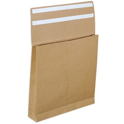E-Greenvelop, Sustainable E-commerce Packaging Gusset Envelope, Size : 9.5 x 9.25 x 1.75 inches, Pack of 10 envelopes