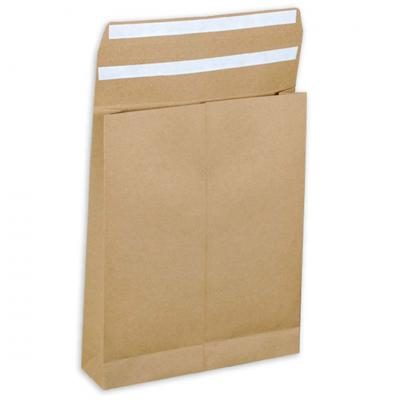 E-Greenvelop, Sustainable E-commerce Packaging Gusset Envelope, Size : 10 x 8 x 2 inches, Pack of 10 envelopes