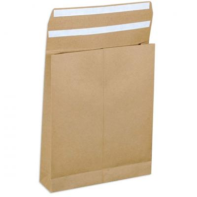 E-Greenvelop, Sustainable E-commerce Packaging Gusset Envelope, Size : 12 x 10 x 2 inches, Pack of 10 envelopes
