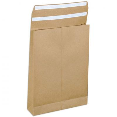 E-Greenvelop, Sustainable E-commerce Packaging Gusset Envelope, Size : 16 x 12 x 2 inches, Pack of 10 envelopes