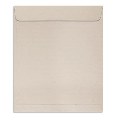 Size : 9.5 x 8 inches, Natural Shade Kraft 80 GSM, Pack of 50 Envelopes