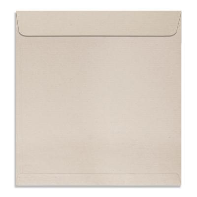 Size : 9.75 x 9.75 inches, Natural Shade Kraft 80 GSM, Pack of 50 Envelopes