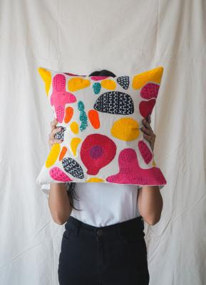 Cushion Cover Abstract Multi Color