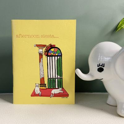 Afternoon Siesta Print Diary (White Pages)