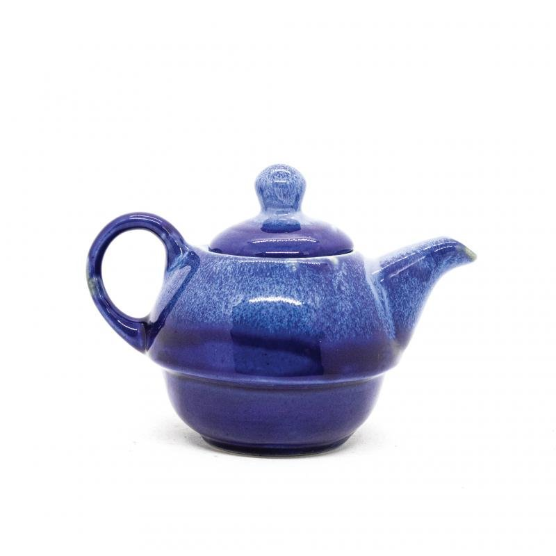 Indigo Wave One Cup & Kettle, Studio Pottery - Rare Planet (1000555502071)